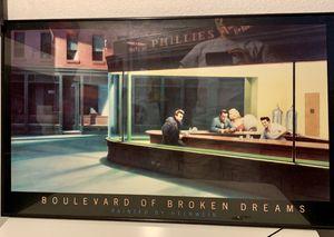 """Framed Helwein Print """"Boulevard of Broken Dreams"""" for Sale in Scottsdale, AZ"""