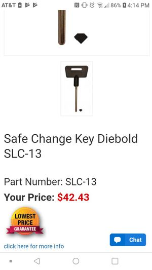 Safe change key HPC SLC 13 for Sale in Parkland, WA