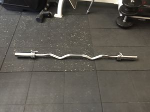 Olympic Curl bar, New. Gym equipment,fitness, for Sale in Rancho Cucamonga, CA