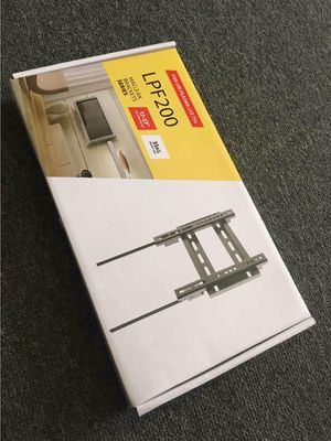 NEW IN BOX 13 to 37 Inch Fixed 200x200 VESA Small TV Surveilance Camera Television Wall Mount Computer Monitor Flat Screen with Hardwares for Sale in Whittier, CA