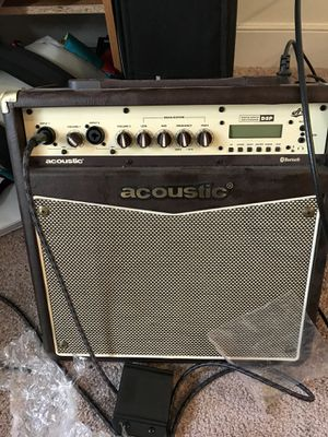 Acoustic Guitar Amp with cable for Sale in Falls Church, VA