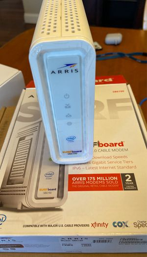 Arris SB6190 Cable Modem for Sale in Fredericksburg, VA