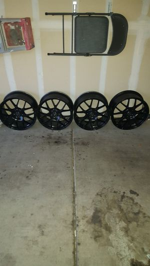 18 inch black rims for Sale in Tucson, AZ