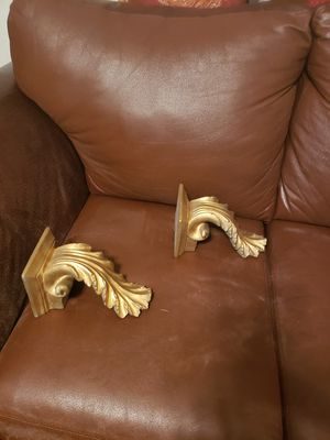 Gold wall decor for Sale in Jacksonville, FL