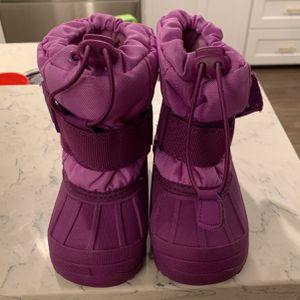 Toddler Snow Boots - Size 5/6 (WORN ONCE) for Sale in La Habra, CA