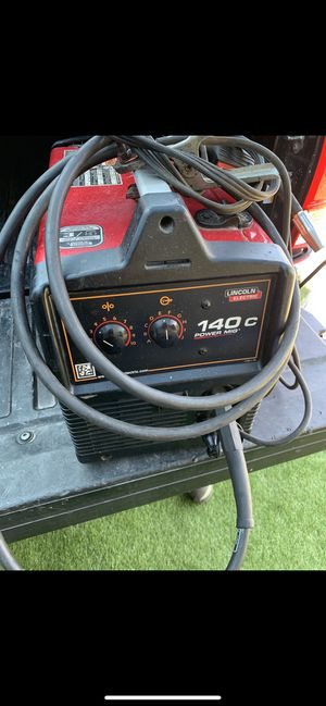 Lincoln 140c power mig welder 110v in very good condition for Sale in Torrance, CA