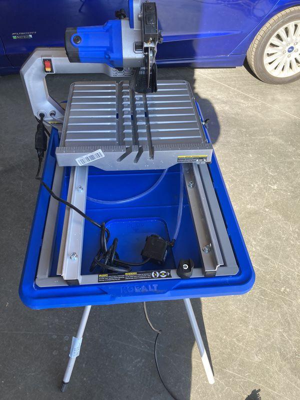 Kobalt table saw brand new! MSRP $650