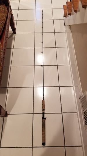 Bass Pro Spiral Graphite (IM7) Baitcasting Fishing Rod for Sale in Mount Prospect, IL