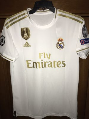 Real Madrid Hazard jersey home white for Sale in Miami, FL