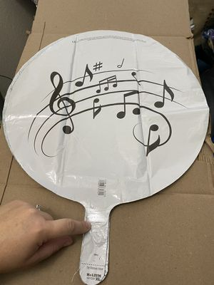"""New Music Notes 17"""" Round Balloon! for Sale in Pittsburg, CA"""