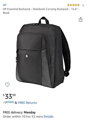"15.6 "" HP laptop backpack for Sale in Boston, MA"