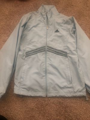 baby blue vintage adidas climate proof sweater for Sale in Fontana, CA