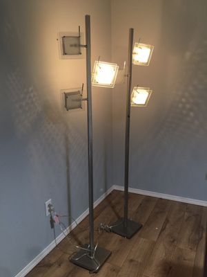 Floor Lamp - Set of 2 for Sale in Olympia, WA