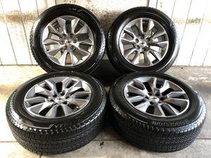 "2019 Chevy Tahoe Suburban Silverado 20"" Wheels Rims Tires 275/60/20 NEW for Sale in Santa Ana, CA"