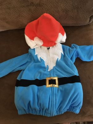 Free gnome costume size 12m for Sale in Rancho Cucamonga, CA