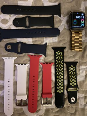 Apple Watch series 4 wrist watch ⌚️ with accessories for Sale in Providence, RI