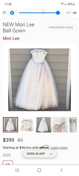 prom dress, evening gown, quincenerra dress for Sale in Escondido, CA