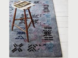 West Elm Alyson Fox Stencil Rug 5x8 for Sale in New York, NY