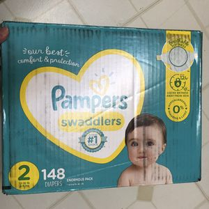 pampers swaddlers size 2 for Sale in North Olmsted, OH