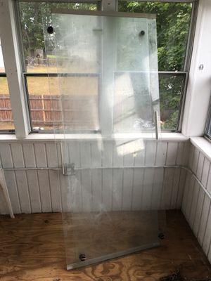 Glass shower doors set for Sale in Boston, MA