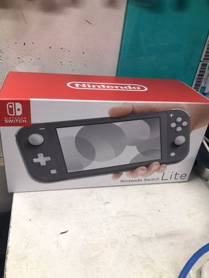 Nintendo switch lite Gray (Brand New) for Sale in Rancho Cucamonga, CA