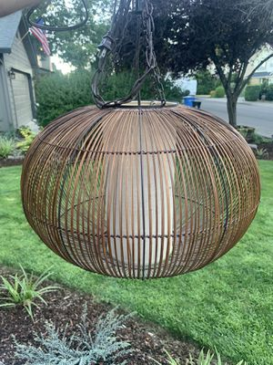 Round Light fixture - standard plug for Sale in Vancouver, WA