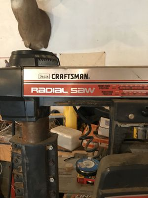 Craftsman Radial Saw for Sale in Butler, PA