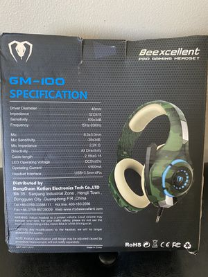 Beexcellent Gaming Headset for Sale in Mauldin, SC