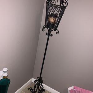 Iron Scroll Floor Candle Holder for Sale in Hialeah, FL
