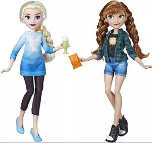 Frozen Elsa & Ana Barbie dolls for Sale in Bridgeton, MO