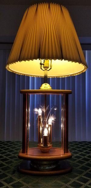 2 Stage Oak Lamp for Sale in Palmdale, CA