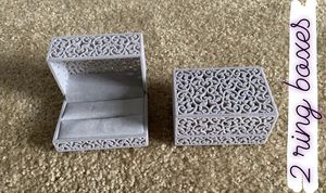 Ring boxes (2) for Sale in Otsego, MN