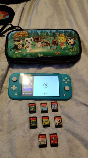 Nintendo Switch Lite *EVERYTHING SOLD TOGETHER* for Sale in Irving, TX
