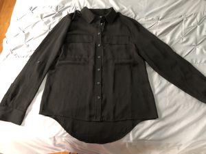 Black long sleeve dress shirt for Sale in Boston, MA
