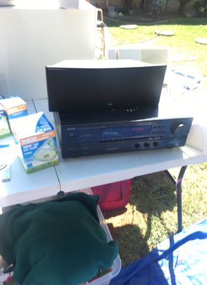 Bose surround sound speakers with receiver for Sale in Fresno, CA