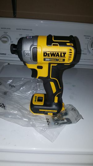 3 SPEED BRUSHELESS XR IMPACT DRILL TOOL ONLY for Sale in San Antonio, TX