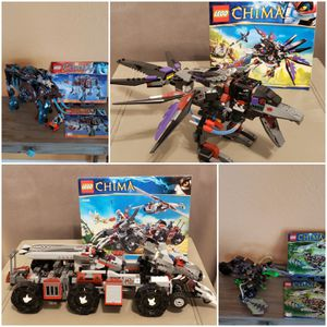 4 Lego Chima Sets in excellent condition for Sale in Pembroke Pines, FL