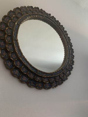 Antique style round mirror for Sale in Hialeah, FL