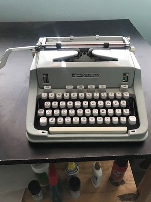 VINTAGE Hermes 3000 Portable Typewriter-TESTED for Sale in Lafayette, CA