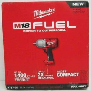 M18 FUEL 18-Volt Lithium-Ion Brushless Cordless 1/2 in. Impact Wrench with Friction Ring (Tool Only) for Sale in Spring Valley, CA