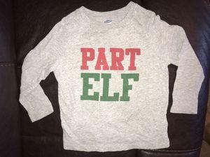 Part Elf t-shirt, size 3T for Sale in Rustburg, VA