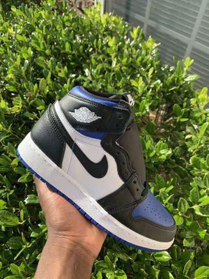 Jordan 1 Retro Royal Toe for Sale in Rolesville, NC