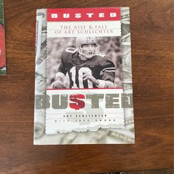 OSU QB Autographed Book—Busted for Sale in Columbus,  OH