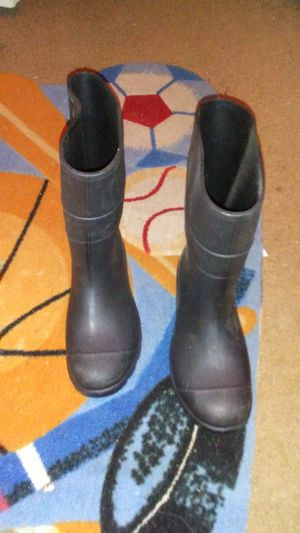 Black rubber boots for Sale in Clayton, NC