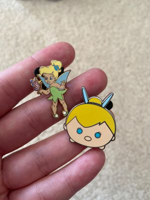Tinker bell authentic Disney trading pins for Sale in Federal Way, WA