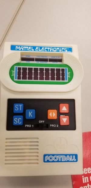 Mattel 1977 Electronics Football game with box and instructions for Sale in Fowler, CA
