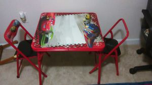 RACE CARS KIDS TABLE for Sale in Nolensville, TN
