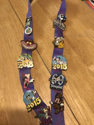 Disney pin trading pins for Sale in Riverside, CA