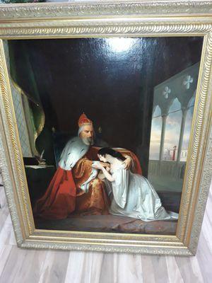 Antique painting Doge Francesco Foscari for Sale in West Palm Beach, FL