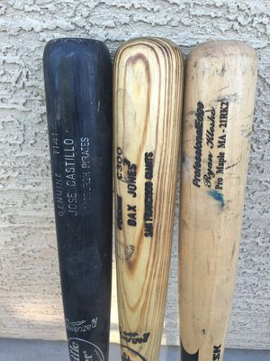 Game used MLB bats for Sale in Tolleson, AZ